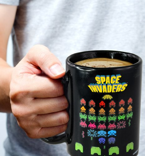 Space Invaders Color Changing Mug