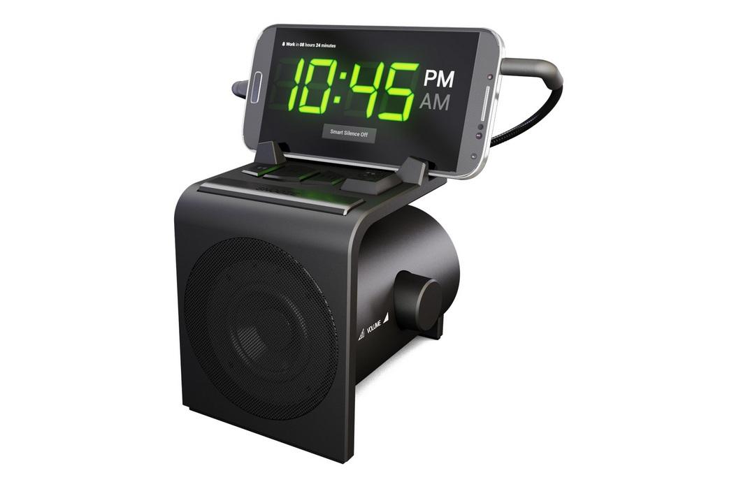 alarm clock speaker dock for android phones. Black Bedroom Furniture Sets. Home Design Ideas