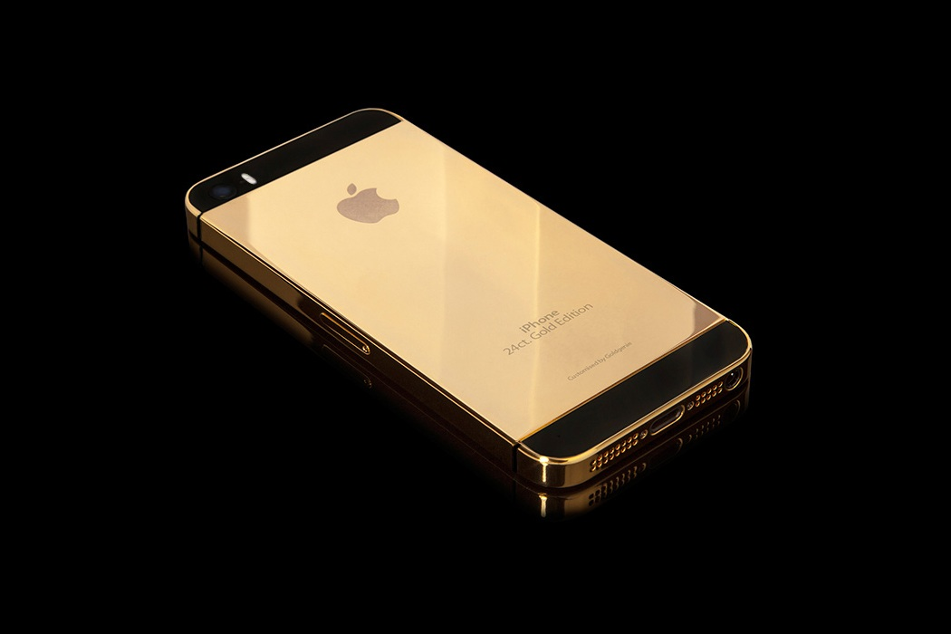 Apple Solid Gold Iphone 5s (2)