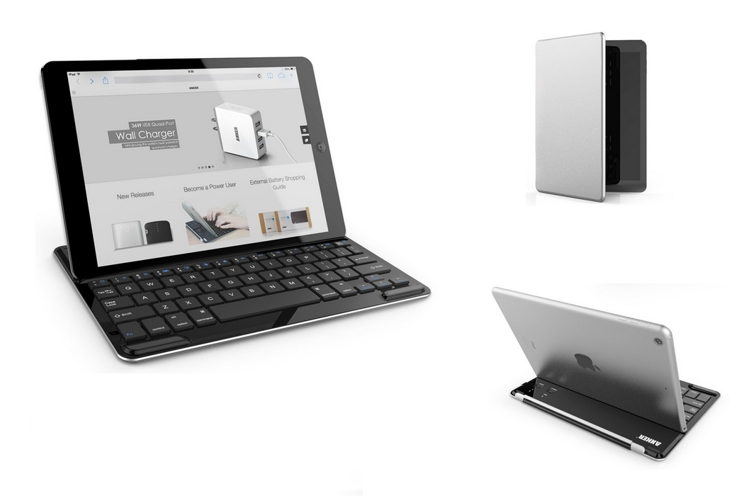 Bluetooth Wireless Aluminum Keyboard (1)