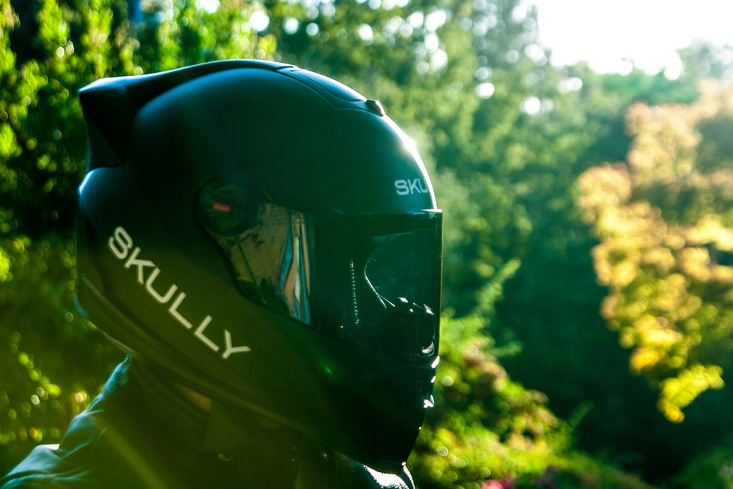 Skully P1 Heads-up Display Motorcycle Helmet (5)