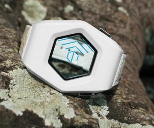 Tokyoflash Kisai Spider Acetate White LCD Watch (2)
