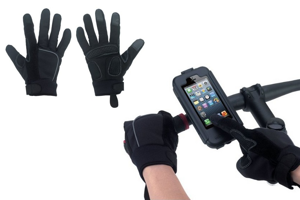 Waterproof Windproof Touch Screen Cycling Gloves