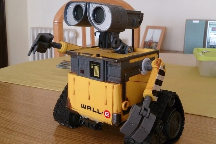 Arduino wall e robot with voice commands bonjourlife