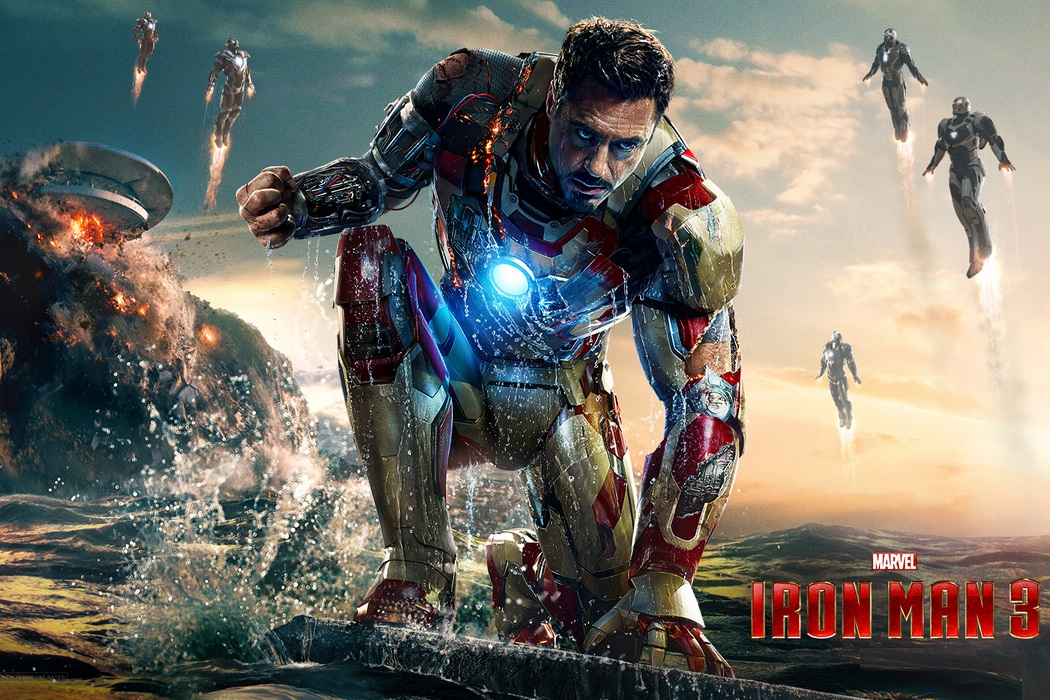 Best Movies of 2013.Iron Man 3