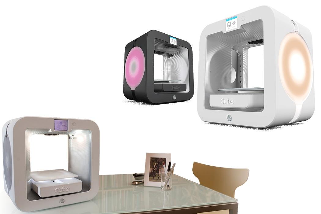 Cubify's 3D Printer Cube 3
