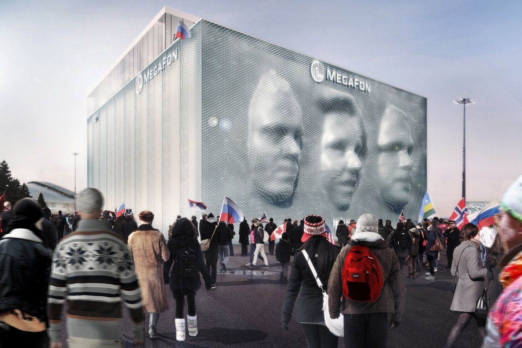 MegaFon Sochi Winter Olympics Pavilion (4)