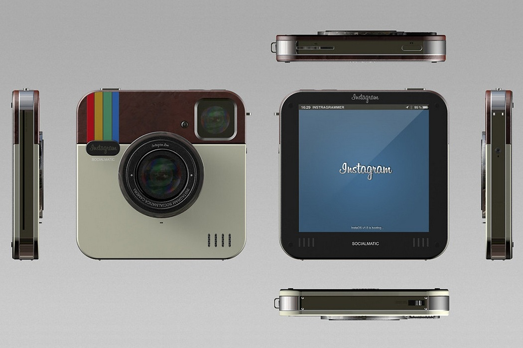 Polaroid Socialmatic Camera Concept (2)