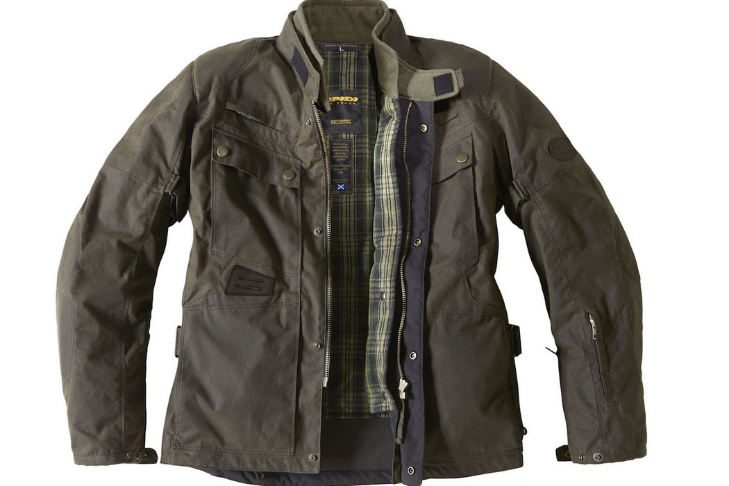 Spidi Worker Wax H2out Jacket (2)