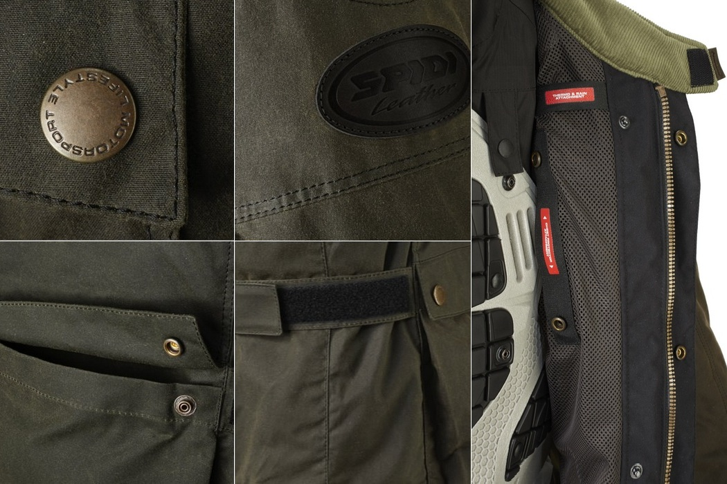 Spidi Worker Wax H2out Jacket (4)
