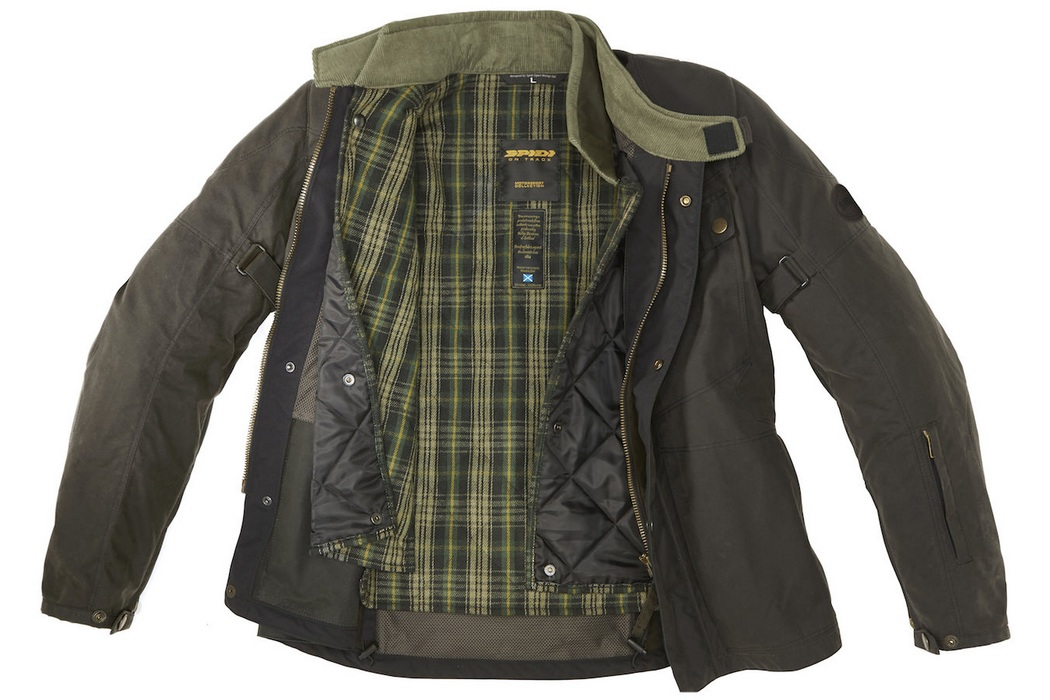 Spidi Worker Wax H2out Jacket (5)