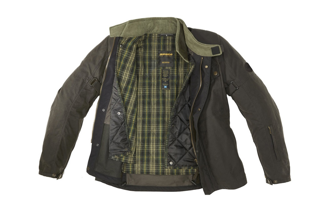 Spidi Worker Wax H2out Jacket (8)