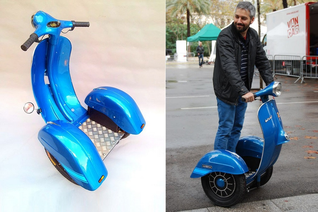 The First Vespa Segway (1)