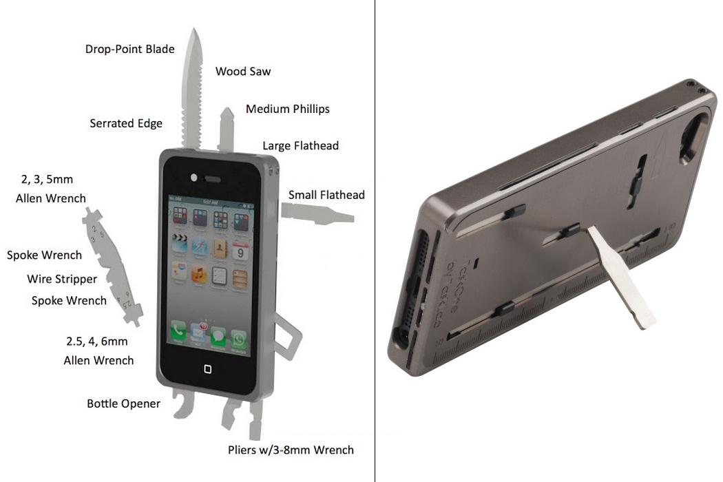 TtaskOne iPhone Toolkit Case (3)