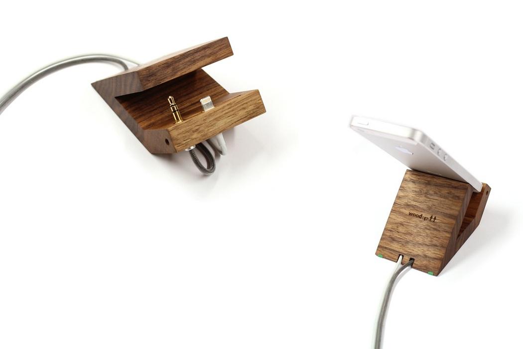 Woodup Beat iPhone 5 Dock (1)