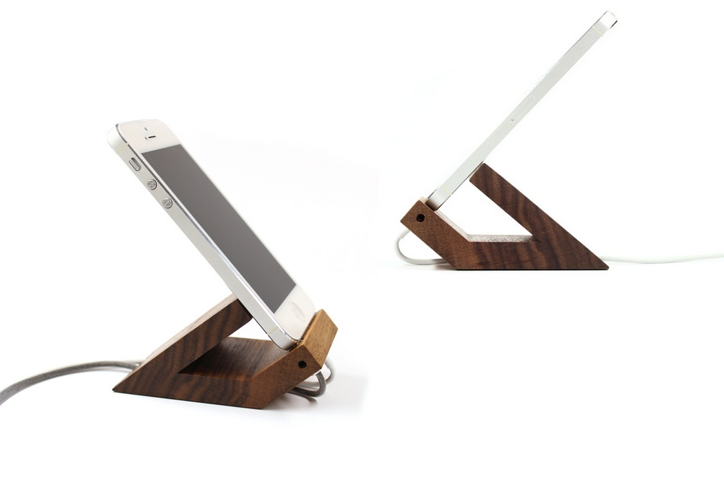 Woodup Beat iPhone 5 Dock (2)