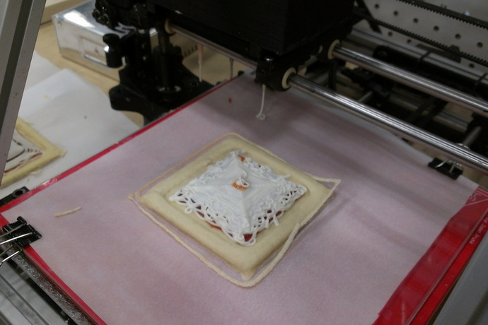 3D Food Printing Production Project By NASA