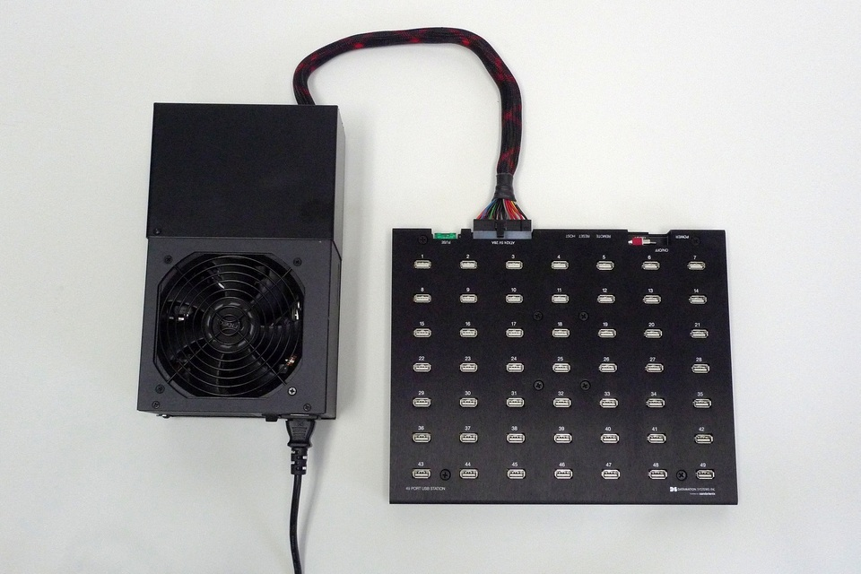 49-Port Sync USB Charging Hub