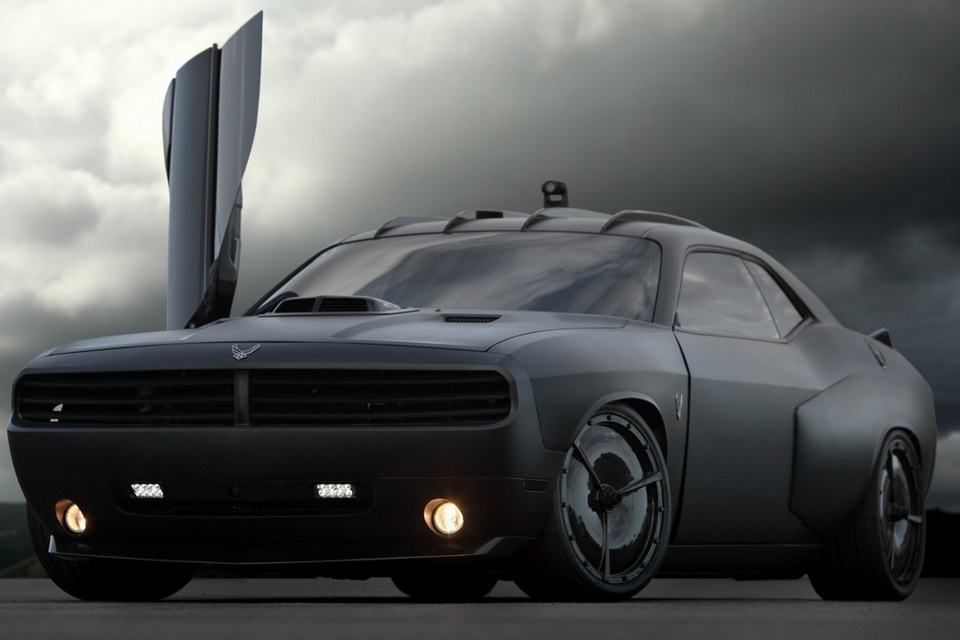 Dodge Challenger Vapor For U.S. Air Force (13)