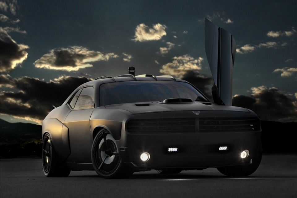Dodge Challenger Vapor For U.S. Air Force (3)