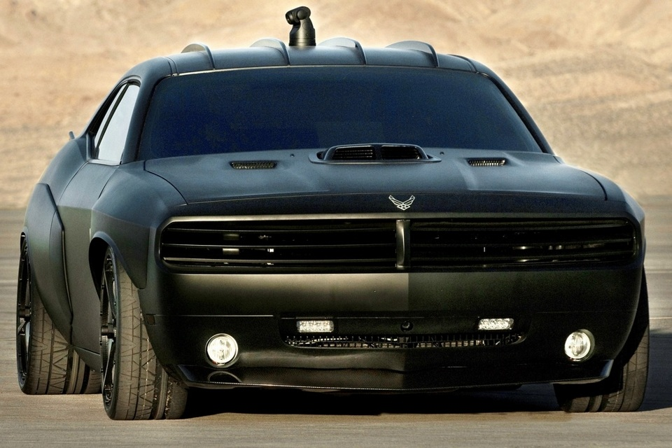 Dodge Challenger Vapor For U.S. Air Force (2)