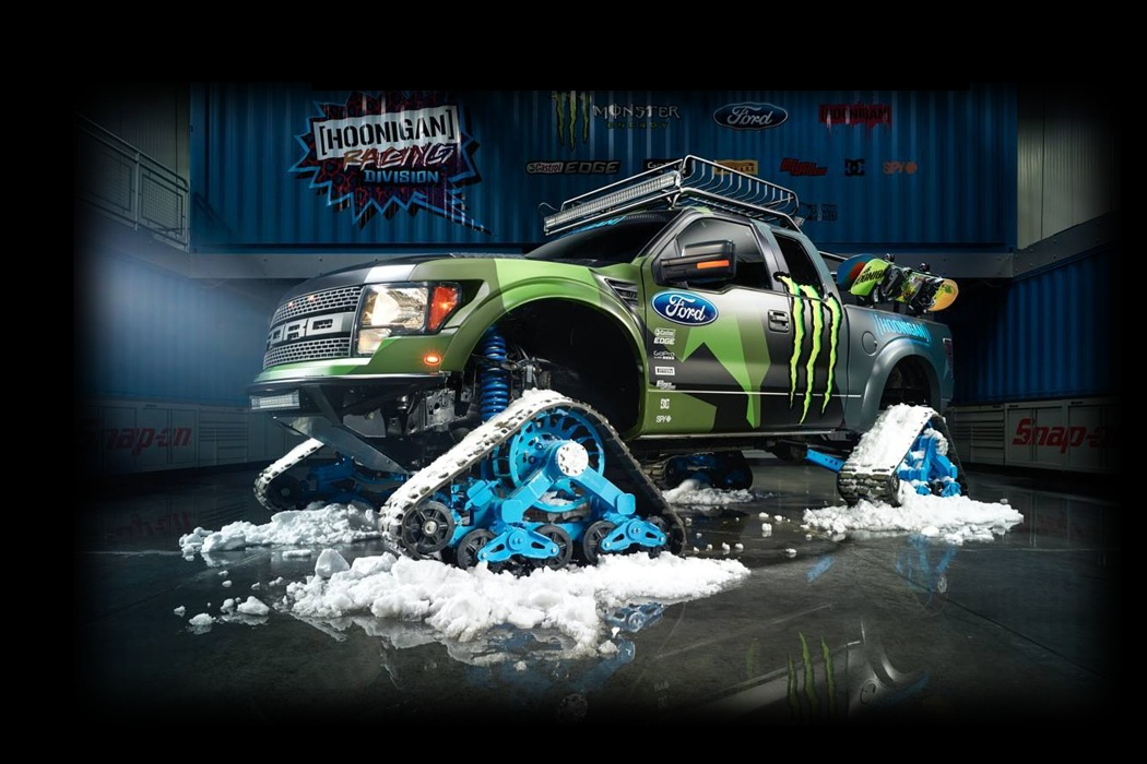 Ford F-150 RaptorTrax - King Of The Mountain