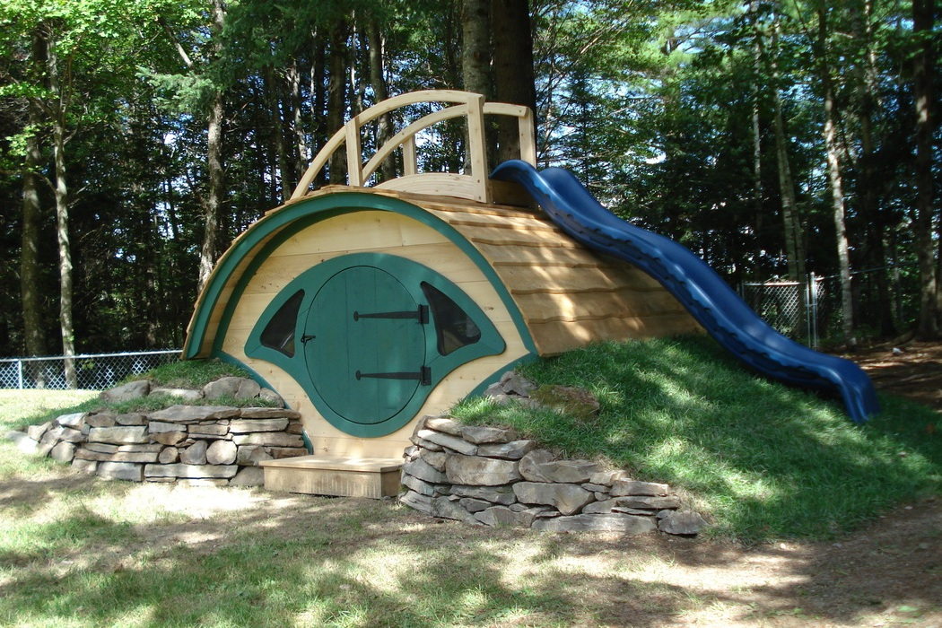 hobbit hole playhouse bonjourlife