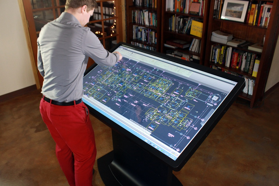 Ideum 39 S 46 Multitouch Coffee Table Bonjourlife
