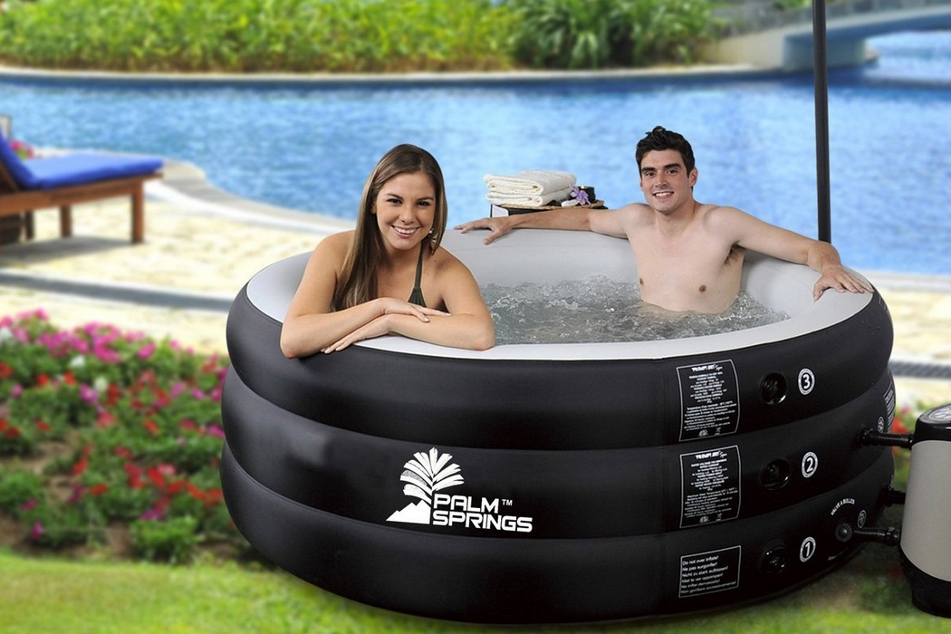 Inflatable Home Pro Classic Jet Spa With Cover