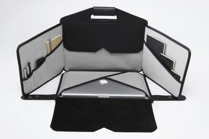 La Fonction No.1 Briefcase A Miniature Mobile Cubicle