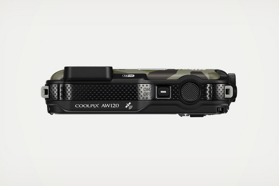 Nikon Coolpix Aw120 Camouflage Camera