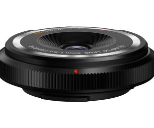 Olympus 9mm F8 Fisheye Body Cap Lens