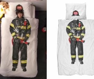 Snurk Firefighter Duvet Bedding Cover