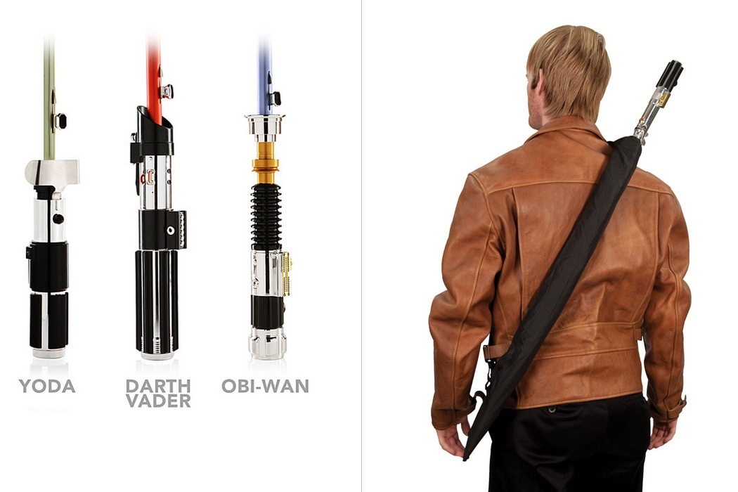 Star Wars Lightsaber Umbrellas Saberellas