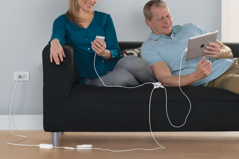 The 15-foot Comfortable Reach USB Charger