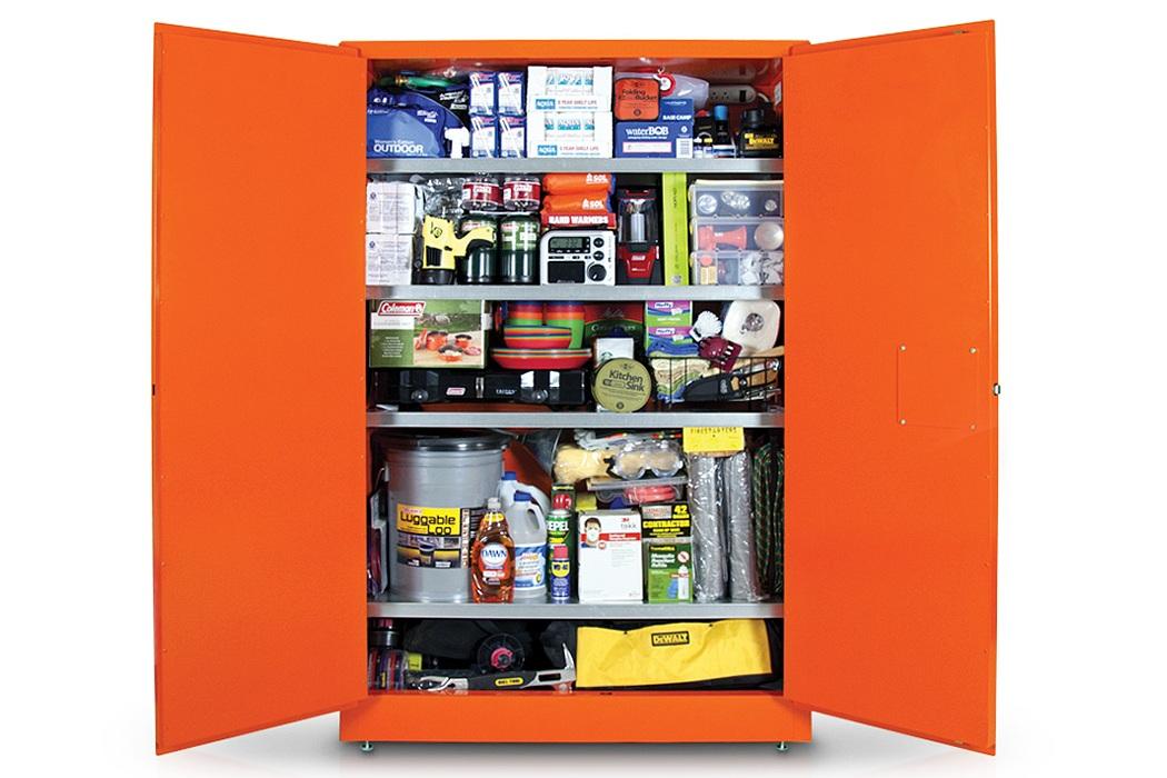Wolfram Survival Cabinet