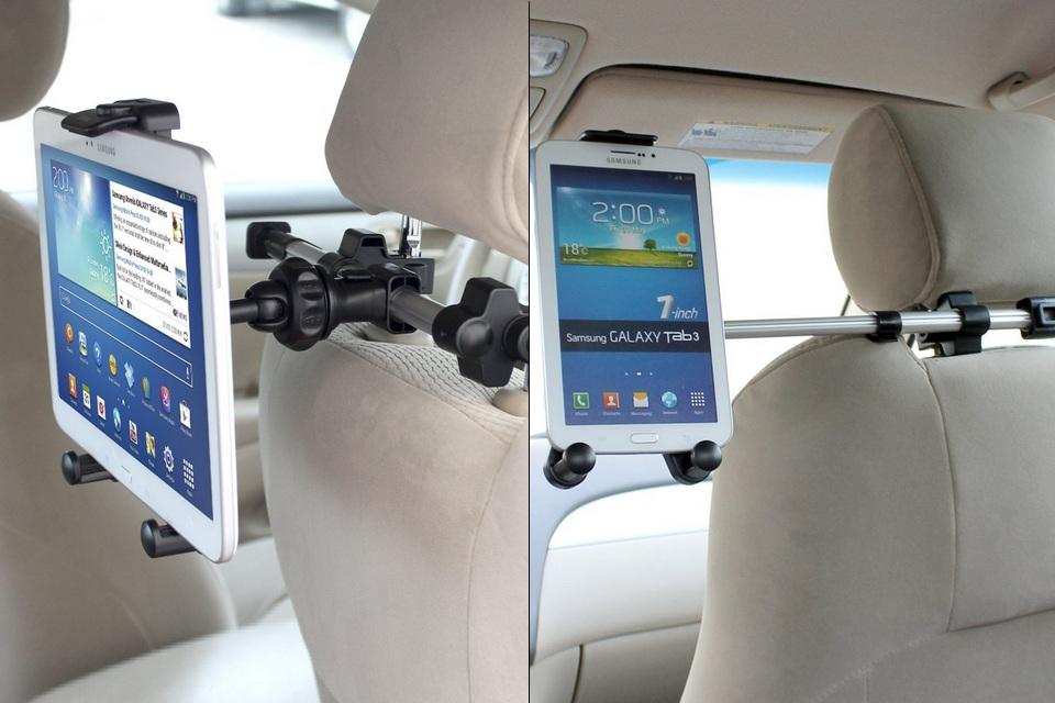 iKross 360-deg Headrest Mount Holder Car Kit
