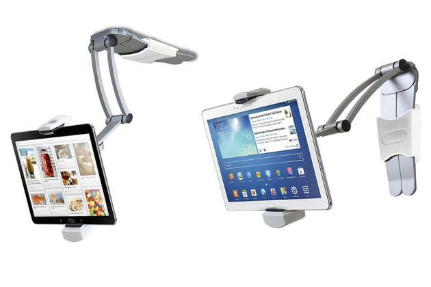 2-In-1 Kitchen Mount Stand For iPad And Tablets