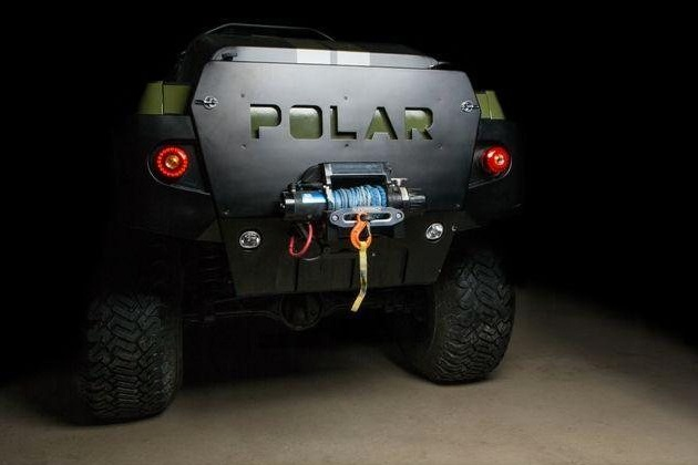 2010 Toyota Tacoma Polar Expedition Truck