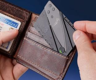 Credit Card Folding Safety Knife