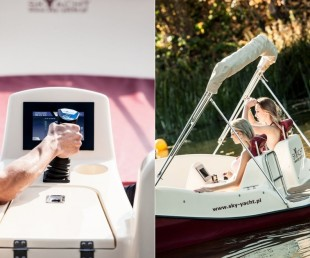 Joystick-Controlled Electric Joyboat (2)