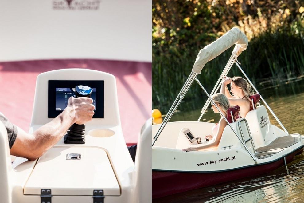 Joystick-Controlled Electric Joyboat (2)