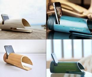 Loudbasstard Bamboo Passive Amplifier