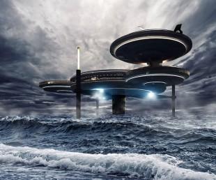 Luxury Underwater Disc Hotel Dubai
