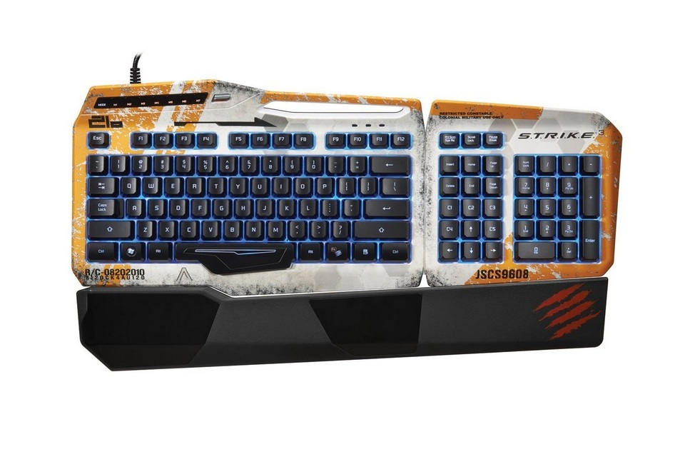 Mad Catz Titanfall Gaming Keyboard for PC