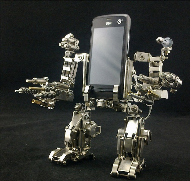 Mech Warrior Cell-Phone Holder