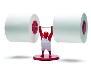 Mr. T - Toilet Paper Roll Holder