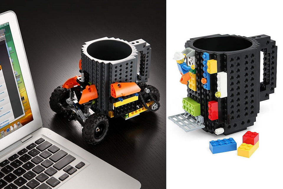 My Lego Build-On Coffee Mug