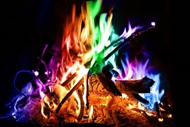 Mystical Fire - Campfire Colorful Flames (2)