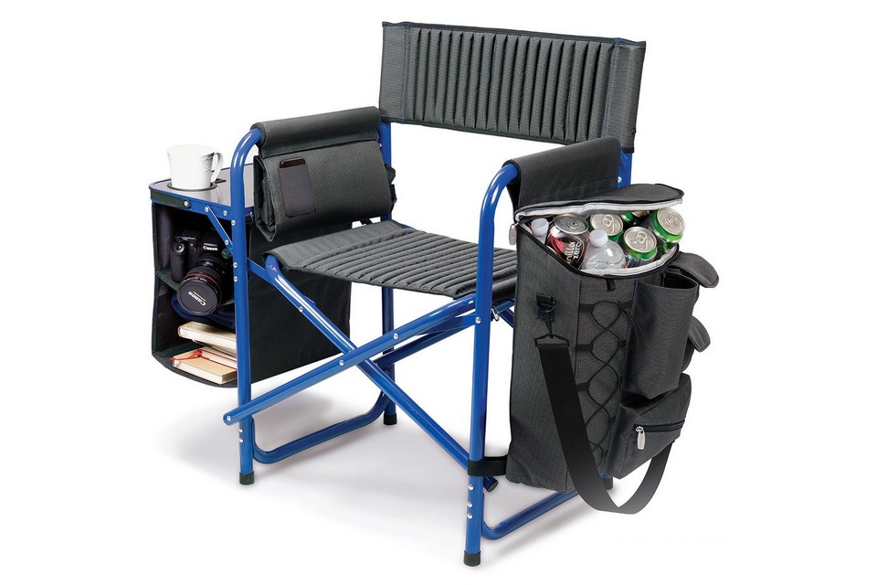 Picnic Time Fusion Portable Cooler Chair Bonjourlife